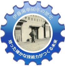 伊藤歯車製作所60年の歩み