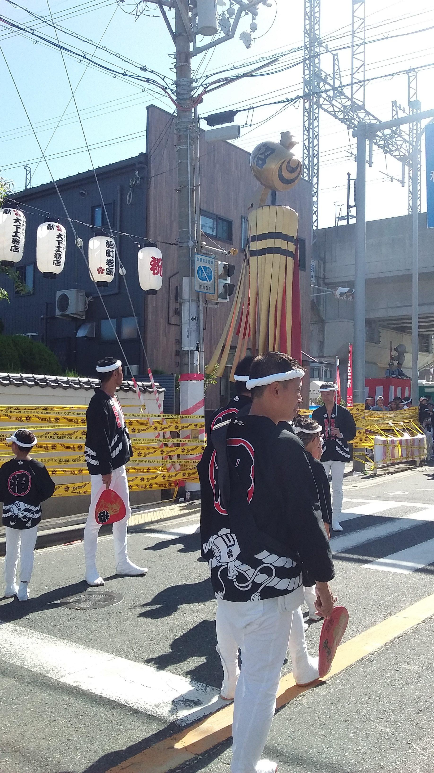 2019年 岸和田だんじり祭り